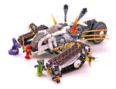 Ultra Sonic Raider - LEGO set #9449-1