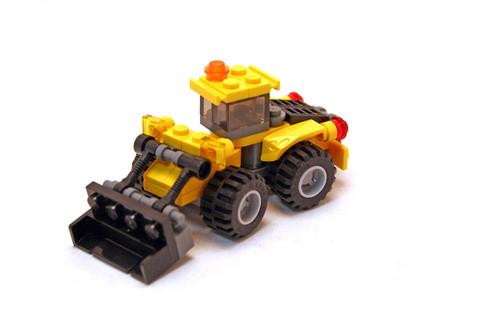 Mini Digger - LEGO set #5761-1