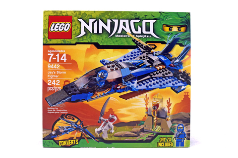 Jay's Storm Fighter - LEGO set #9442-1 (NISB)