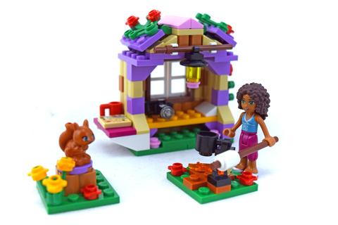 Andrea's Mountain Hut - LEGO set #41031-1
