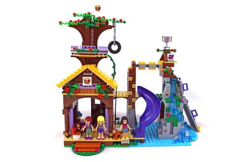 Adventure Camp Tree House - LEGO set #41122-1