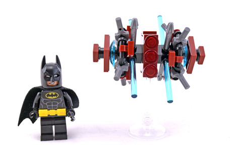 Batman in the Phantom Zone polybag - LEGO set #30522-1