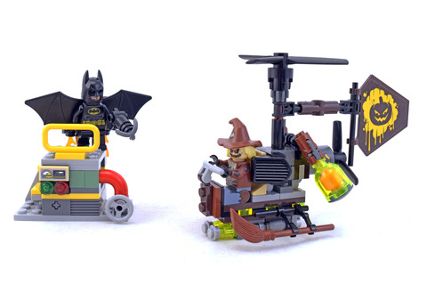 Scarecrow Fearful Face-off - LEGO set #70913-1