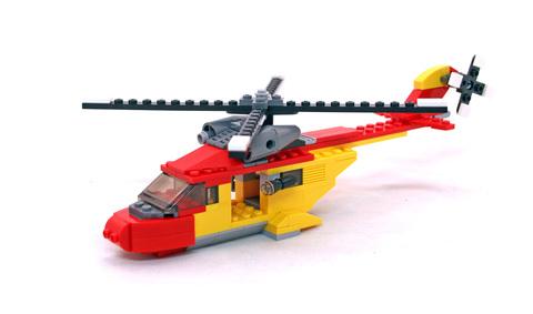 Rotor Rescue - LEGO set #5866-1