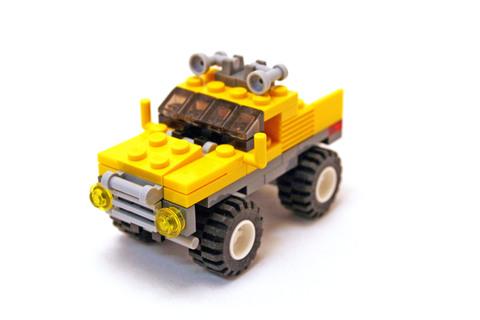 Mini Off-Roader - LEGO set #6742-1