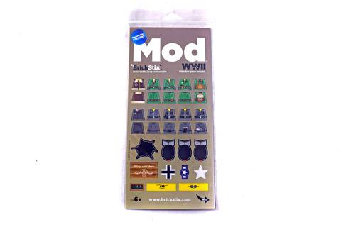 WWII MOD STIX Brick Stickers