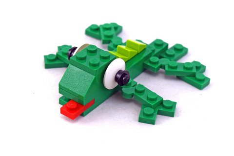 Lizard polybag - LEGO set #7804-1