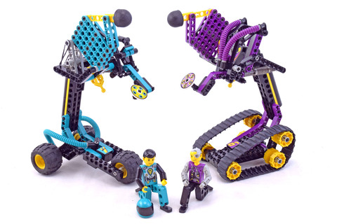 Cyber Strikers - LEGO set #8257-1