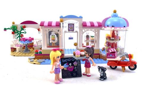 Heartlake Cupcake Café - LEGO set #41119-1