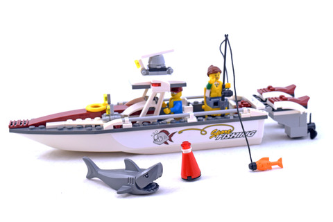 Fishing Boat - LEGO set #60147-1