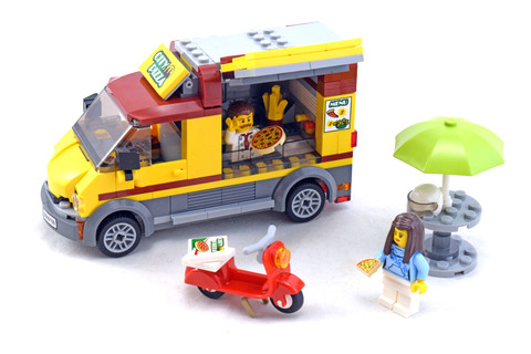 Pizza Van - LEGO set #60150-1