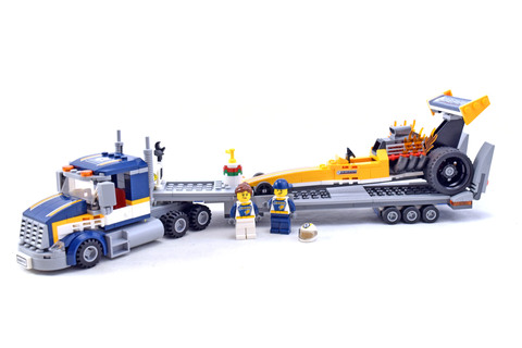 Dragster Transporter - LEGO set #60151-1