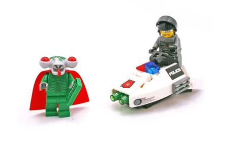 Squidman Escape - LEGO set #5969-1