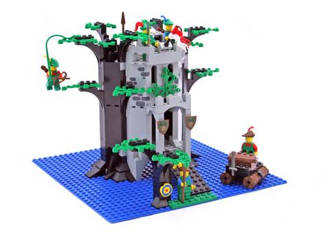 Forestmen's River Fortress - LEGO set #6077-2