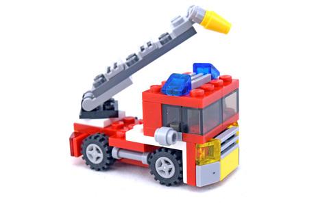 Mini Fire Rescue - LEGO set #6911-1