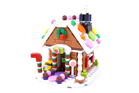 Gingerbread House - LEGO set #40139-1
