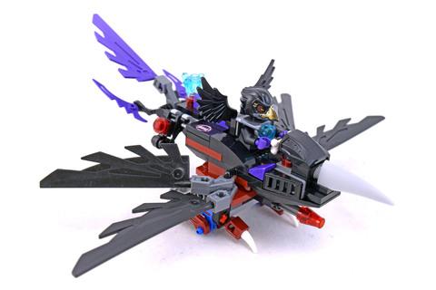 Razcal's Glider - LEGO set #70000-1