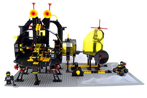 Message Intercept Base - LEGO set #6987-1