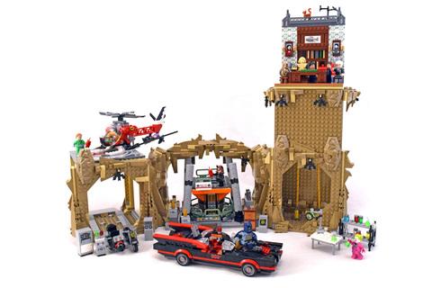 Batman Classic TV Series - Batcave - LEGO set #76052-1