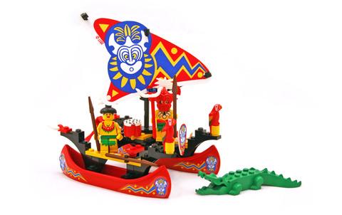 Islander Catamaran - LEGO set #6256-1