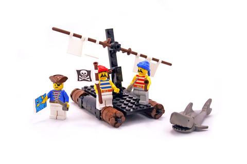 Castaway's Raft - LEGO set #6257-1