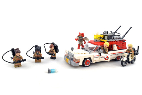 Ecto-1 & 2 - LEGO set #75828-1