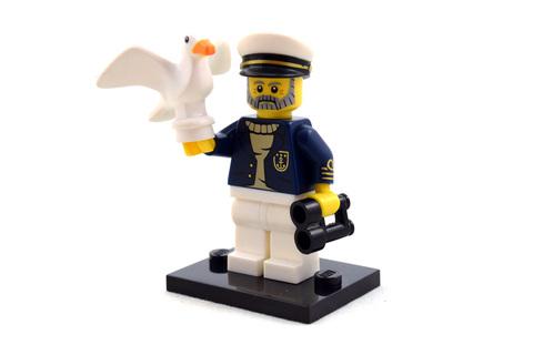 Sea Captain - LEGO set #71001-10