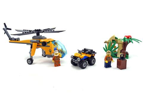 Jungle Cargo Helicopter - LEGO set #60158-1