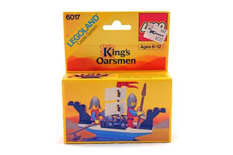 King's Oarsmen - LEGO #6017 - New In Box