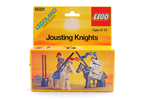 Jousting Knights - LEGO #6021 - New In Box