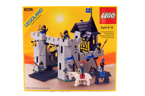 Black Falcon's Fortress - LEGO set #6074-1 (NISB)