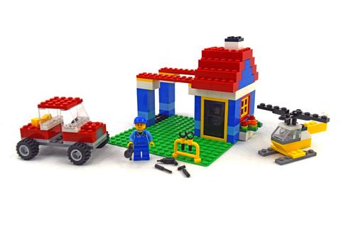 Large Brick Box - LEGO set #6166-1