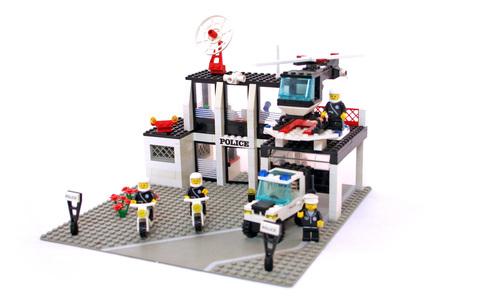 Police Command Base - LEGO set #6386-1