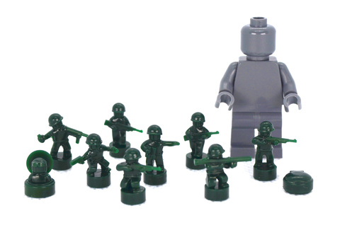 Micro Toy Soldier Pack