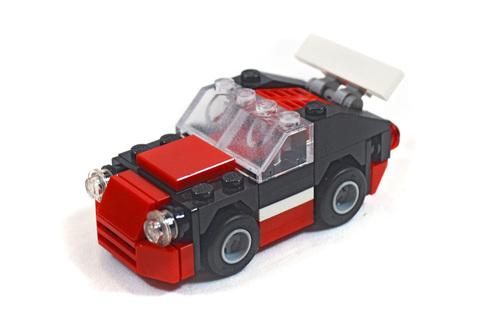 Fast Car polybag - LEGO set #30187-1