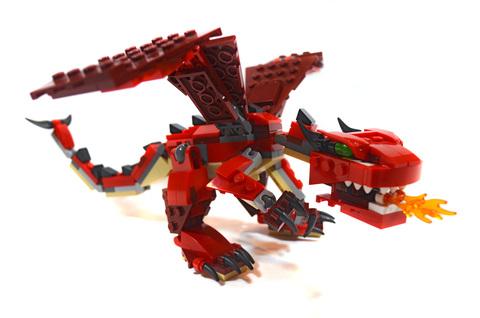Red Creatures - LEGO set #31032-1