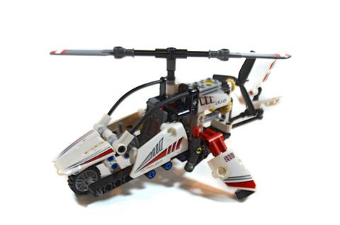 Ultralight Helicopter - LEGO set #42057-1
