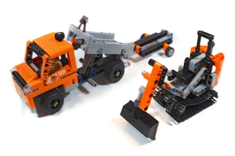 Roadwork Crew - LEGO set #42060-1