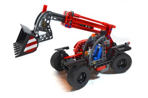 Telehandler - LEGO set #42061-1