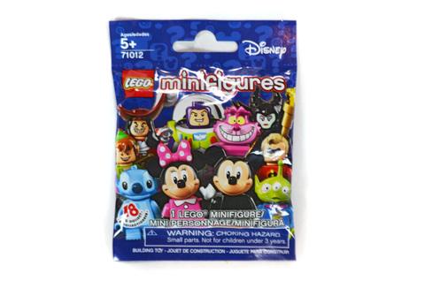 Minifigure, Disney (Complete Random Set of 1 Minifigure) - LEGO set #71012 (NISB)