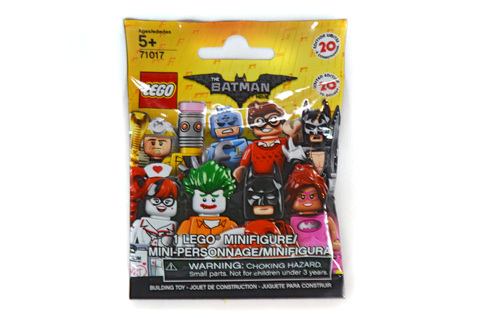 Minifigure, The LEGO Batman Movie, Series 1 (Complete Random Set of 1 Minifigure) - LEGO set #71017-1 (NISB)