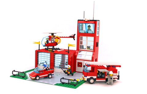 Flame Fighters - LEGO set #6571-1