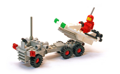 Space Probe Launcher - LEGO set #6870-1