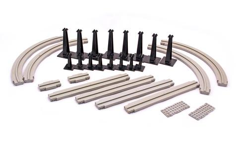 Monorail Accessory Track - LEGO set #6921-1