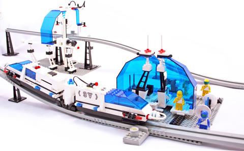 Monorail Transport System - LEGO set #6990-1