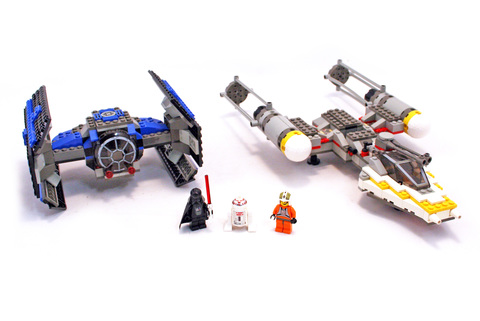 TIE Fighter & Y-wing - LEGO set #7150-1