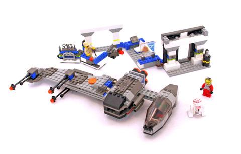 B-wing at Rebel Control Center - LEGO set #7180-1