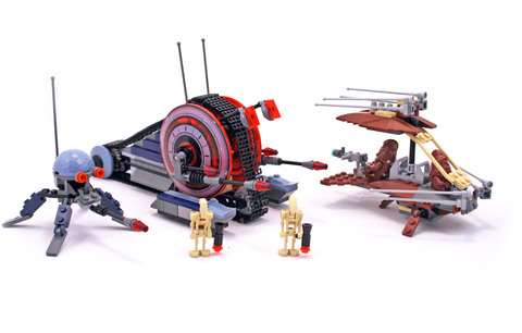 Wookiee Attack - LEGO set #7258-1
