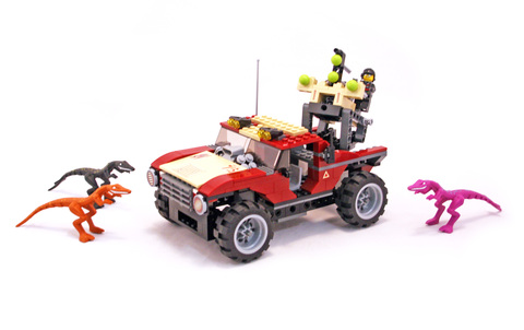 Fire Hammer vs. Mutant Lizards - LEGO set #7475-1