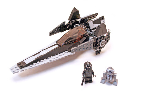 Imperial V-wing Starfighter - LEGO set #7915-1